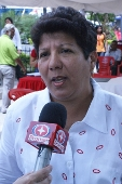 Presidenta del parlamento regional, Shirley Romero