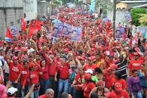 Con alegría gran cantidad de yaracuyanos se concentraron para caminar junto al gobernador Julio León