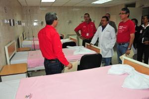 El gobernador, Julio León, aseguró que la atención será de calidad