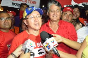 El coordinador regional del comando Bolívar Chávez