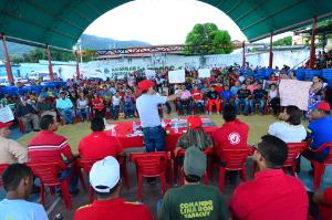 El gobernador Julio León, entregó recursos para la ejecución de 24 proyectos