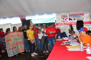El proyecto número 4.000, fue asignado al Consejo Comunal Curazao I