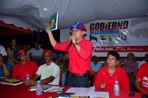 El gobernador otorgó  más de 5 millones de bolívares al Poder Popular en Peña