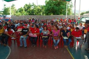Más de 50 comunidades mostraron sus proyectos al primer mandatario