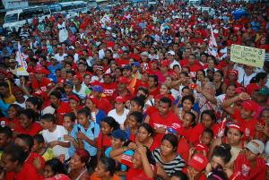 Concentración en Manuel Monge reafirma apoyo a candidatos del GPP