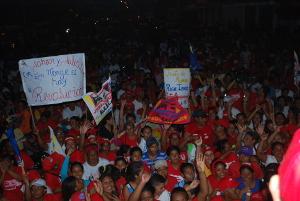 Habitantes del municipio respaldan al candidato Jhoan Quero