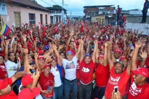 Gobernador acompañó al pueblo de Bolívar en concentración