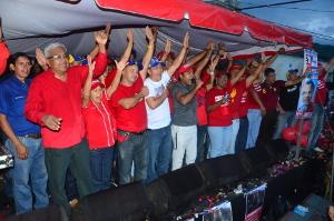 Pueblo organizado realizó caminata de la victoria