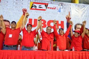 El Gobernador junto al primer vicepresidente del PSUV
