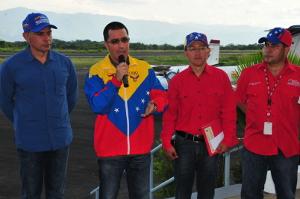 Durante un pase televisivo el Vicepresidente explicó el trabajo realizado en el aeropuerto