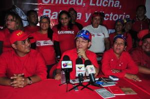 Gobernador oficializó candidatura de Shirley Romero en Peña