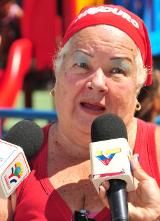 Gladis Hernández, habitante de la urbanización la ascensión