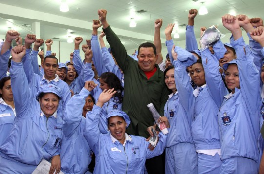 Comandante eterno Hugo Chávez