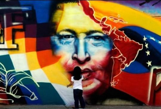 Mural Hugo Chávez