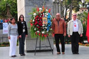 Pueblo de Yaracuy rindió un homenaje al Comandante eterno Hugo Chávez