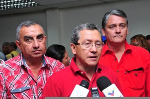 Julio León, coordinador regional del PSUV