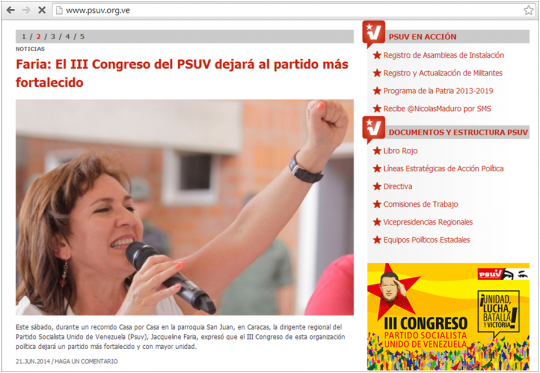 Foto: Captura de pantalla del sitio web