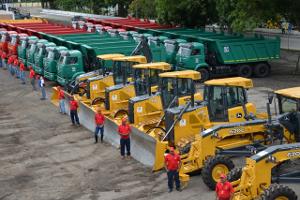 La nueva flota vehicular viene a fortalecer a las empresas socialistas del estado y la GMVV