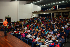 Más de 1.500 jóvenes yaracuyanos del Partido Socialista Unido de Venezuela
