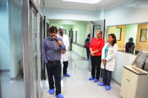 El Ministro inspeccionó el área de Neonatología