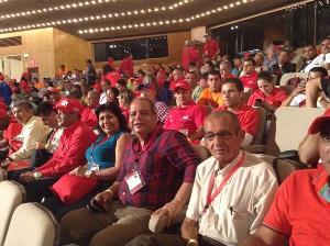 Los delegados