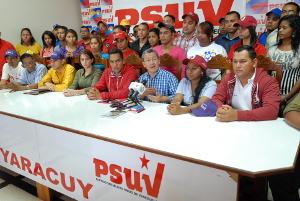 oordinador regional del Partido Socialista Unido de Venezuela (Psuv), Julio León