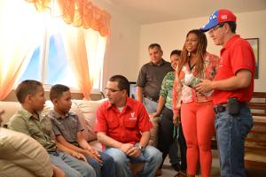 Migdalia Esteile recibió un apartamento amoblado