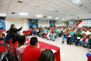 Coordinador del PSUV Yaracuy proclama a los jefes de los CLP