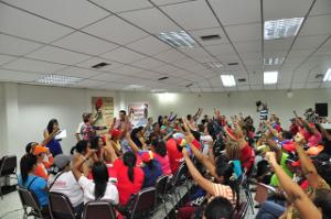 Mujeres yaracuyanas presentes en el III congreso  nacional de la mujer