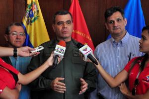 Vladimir Padrino López, Ministro para la Defensa