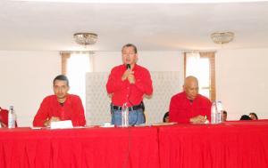 Julio León encabeza reunión