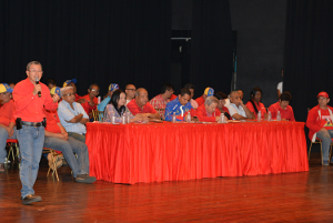 Diputado y alcaldes encabezaron la actividad
