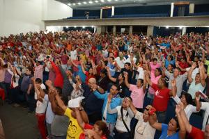 UBCH y jefes de CLP participaron en la asamblea
