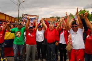 En Cocorote losprecandidatos recorrieron SanJeronimo I y II
