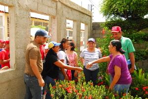 Las precandidatas y precandidatos visitaron varias comunidades